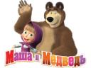 Маша и Медведь logo