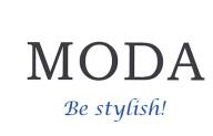 Логотип конфет MODA